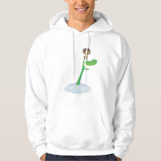 Drawing of Spot And Arlo In Clouds Hoodie