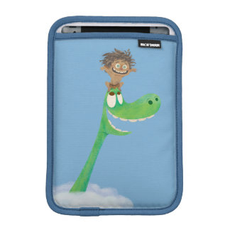 Drawing of Spot And Arlo In Clouds iPad Mini Sleeve