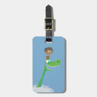 Drawing of Spot And Arlo In Clouds Luggage Tag