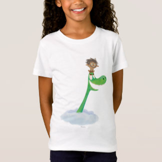 Drawing of Spot And Arlo In Clouds T-Shirt