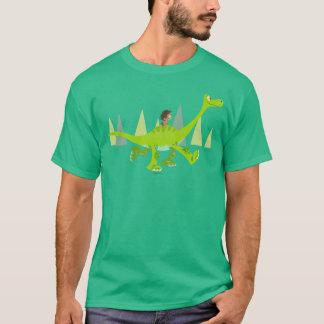 Drawing of Spot Riding Arlo T-Shirt