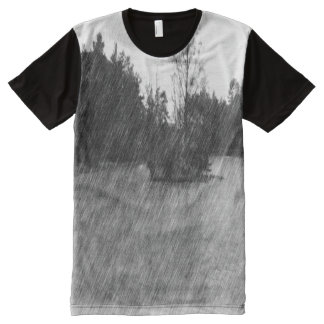 Drawing pond small Island All-Over Print T-Shirt