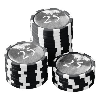 Drawing pound small Island Poker Chips
