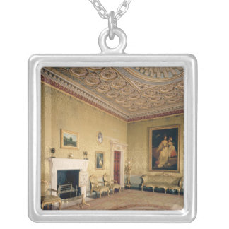 Drawing-room by Adam, c.1770-80 Silver Plated Necklace