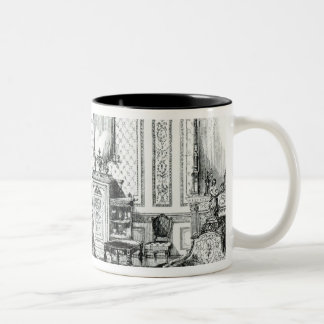 Drawing Room in the Louis Seize Style Two-Tone Coffee Mug