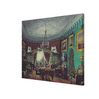 Drawing Room of Empress Alexandra Canvas Print