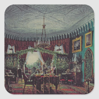 Drawing Room of Empress Alexandra Square Sticker