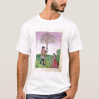 Drawing sap from a tree T-Shirt