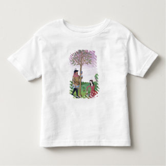 Drawing sap from a tree toddler T-Shirt