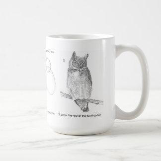 Drawing test coffee mugs