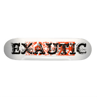 drawing values, XAUTIC, EXAUTIC Skate Board Decks