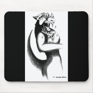 Drawing: Werewolf Mouse Pad