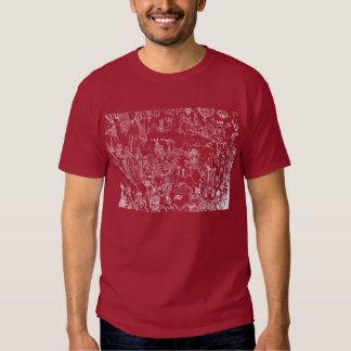 DRAWING WITHIN THE SPIRIT OF THE SN T-SHIRT