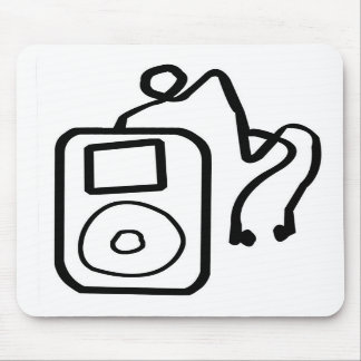 Drawn iPod Mousepad