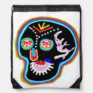 Drawstring Backpack:  ART by NAVIN JOSHI
