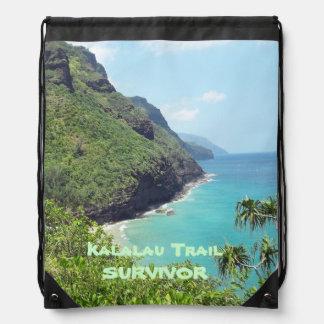 Drawstring BackPack KALALAU TRAIL SURVIVOR