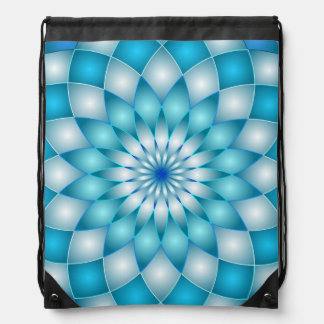 Drawstring Backpack Mandala