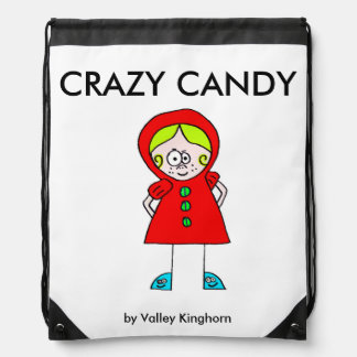 Drawstring backpack of Crazy Candy