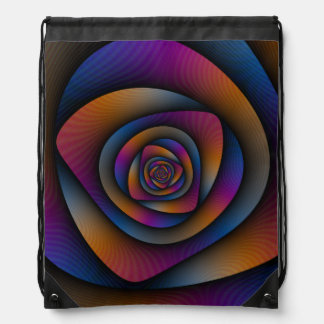 Drawstring Bag    Spiral Labyrinth