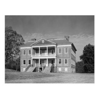 Drayton Hall Plantation, Charleston SC Postcard