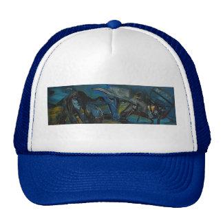 DREAD EYES THE DOW TRUCKER HAT