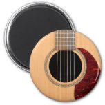 Dreadnought Acoustic six string Guitar 6 Cm Round Magnet