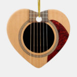Dreadnought Acoustic six string Guitar Christmas Tree Ornaments
