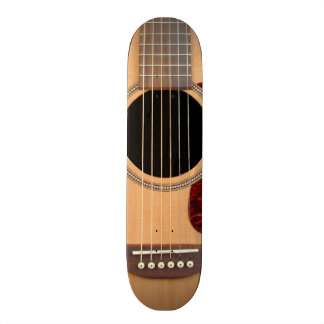 Dreadnought Acoustic six string Guitar Skate Board