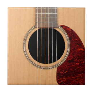 Dreadnought Acoustic six string Guitar Small Square Tile