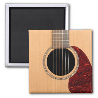 Dreadnought Acoustic six string Guitar Square Magnet