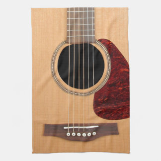 Dreadnought Acoustic six string Guitar Towel