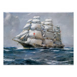 Dreadnought Sailing Clipper Poster