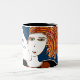 Dream and Believe two-tone 11oz mug
