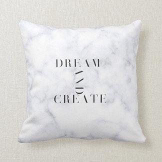 Dream And Create Marble Cushion