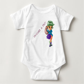 Dream and day baby bodysuit