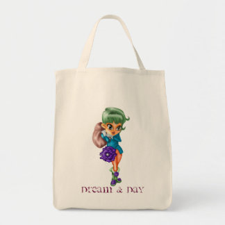Dream and Day Canvas Bag
