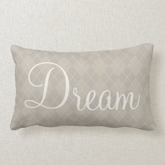 Dream Argyle Pillow