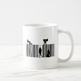 Dream Bar Code Basic White Mug