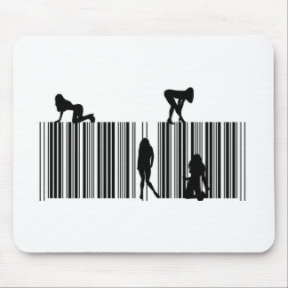 Dream Bar Code Mouse Pad