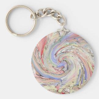 Dream  basic round button key ring