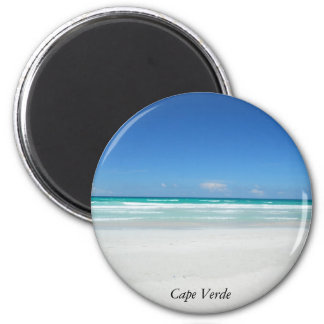 Dream Beach 6 Cm Round Magnet