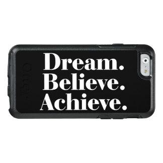 Dream. Believe. Achieve. Quote iPhone 6/6s Case