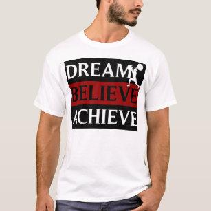 142f4bd9e4fb Dream Believe Achieve Weightlifting T-Shirt