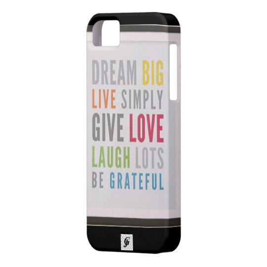 Dream Big Case-Mate Barely There iPhone 5/5S Case