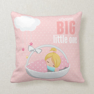 Dream big * choose background color cushion