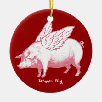 Dream Big Christmas Ornament