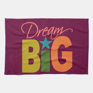 Dream BIG custom kitchen towels