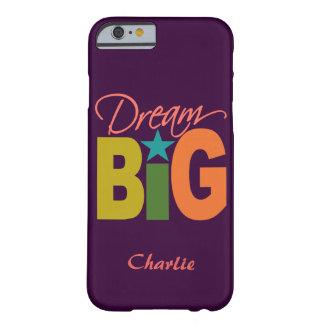 Dream BIG custom name phone cases
