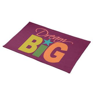 Dream BIG custom placemat