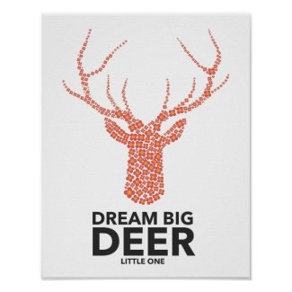 Dream Big Deer Little One